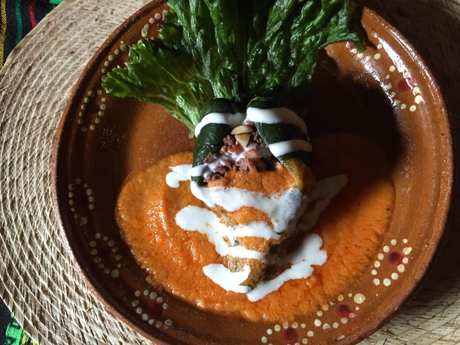 Agustín de Iturbide comió chile en nogada