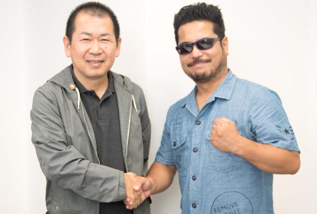 Yu Suzuki and Katsuhiro Harada