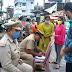 *गोरखपुर- कोतवाली थाना प्रभारी जयदीप वर्मा के नेतृत्व में घोष कंपनी चौक पर बिना मास्क के चल रहे लोगों का किया गया चालान* Dainik Mail 24