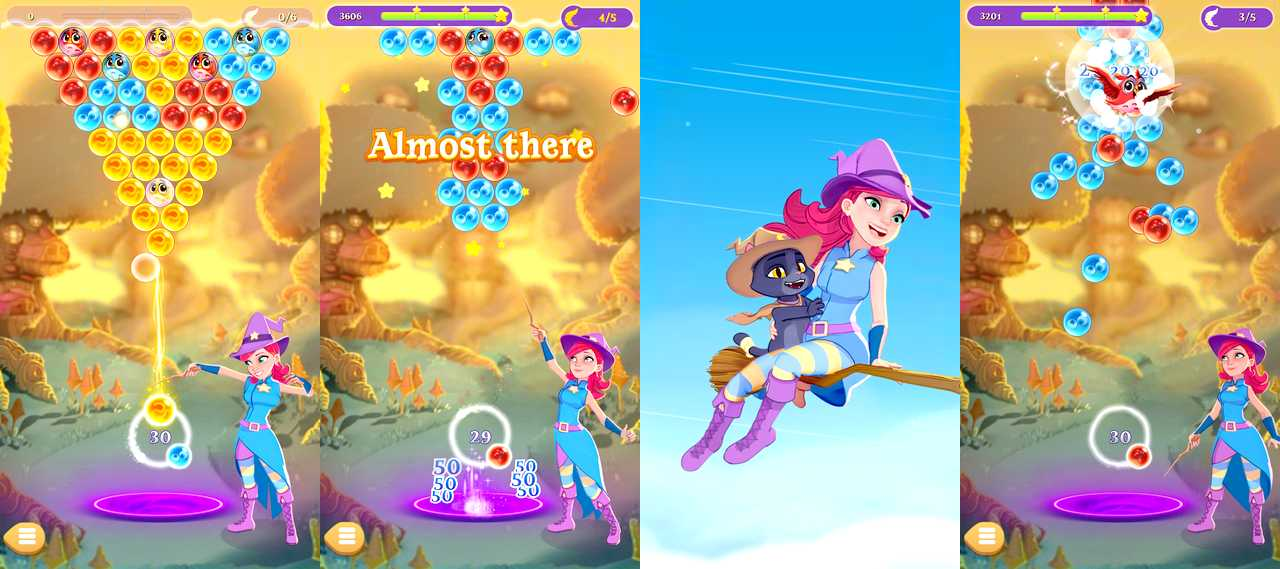 Bubble Witch 3 Saga pour Android
