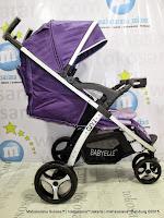 tidur Babyelle S700 Curv2 Lightweight Baby Stroller