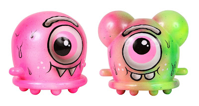 "Custom 3"" Buff Monster Vinyl Figures"