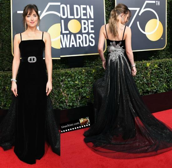 75th Annual Golden Globes Best Bling on Black