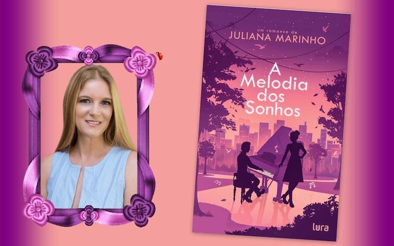 Inspirada em locais que costumava visitar com a família, antes da pandemia, e na música - outra paixão da autora -, Juliana lançou seu quarto livro, A Melodia dos Sonhos. Nesta entrevista, ela comenta sobre suas inspirações e a carreira literária: