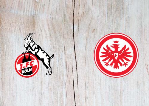 Köln vs Eintracht Frankfurt -Highlights 18 October 2020