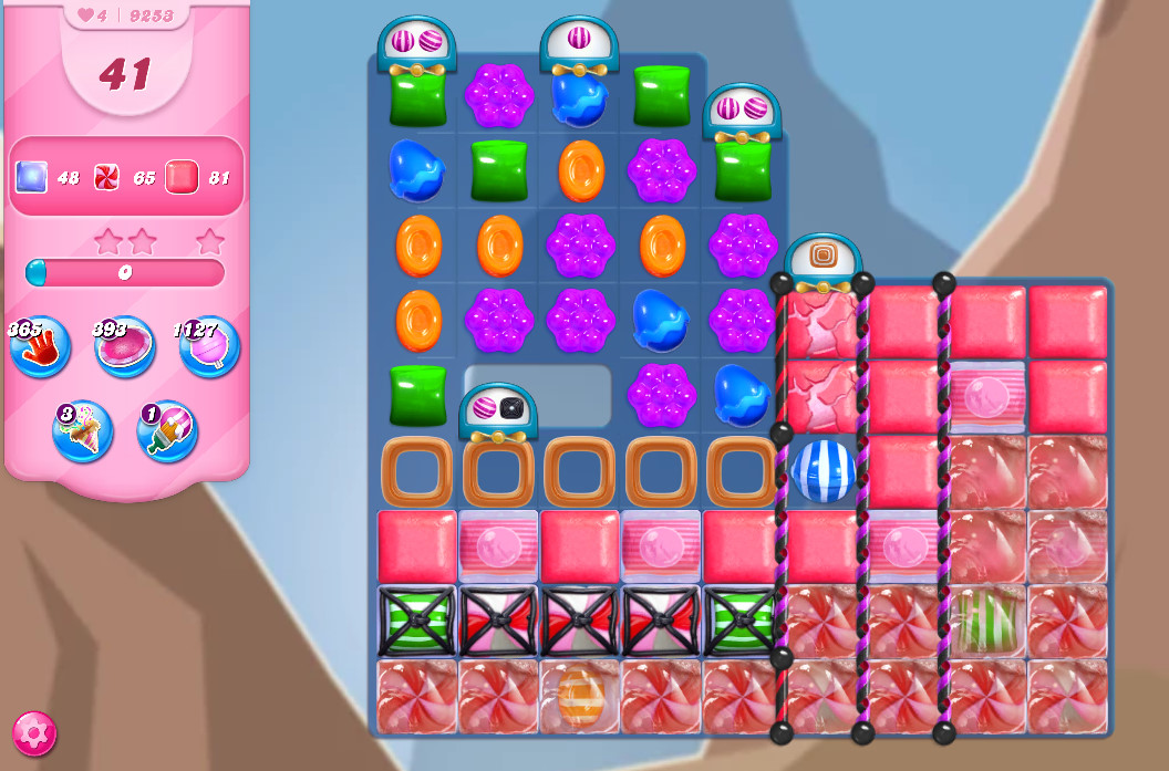 Candy Crush Saga level 9253