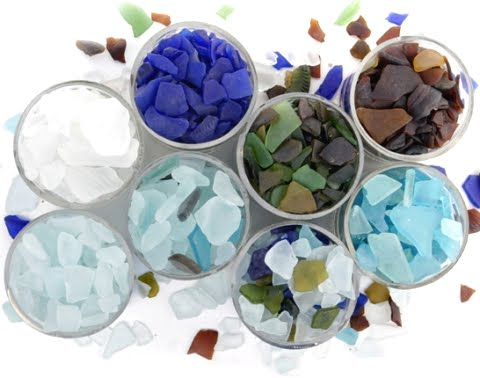 buy sea glass for craftting