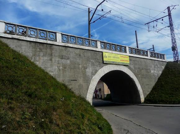 Турка. Залізничний міст 400 м довжиною