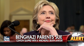 Parents Of 2 Benghazi Victims Sue Hillary Clinton For Wrongful Death, Defamation