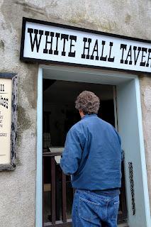 Dean checks out a former bar in Harper's Ferry, West Virginia