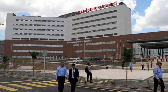 Elazığ Şehir Hastanesi hizmete girdi.