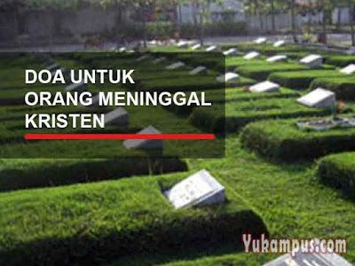 doa kristen untuk orang meninggal