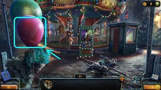 шары отвязываем, которые улетают в игре загадки нью-йорка пробуждение