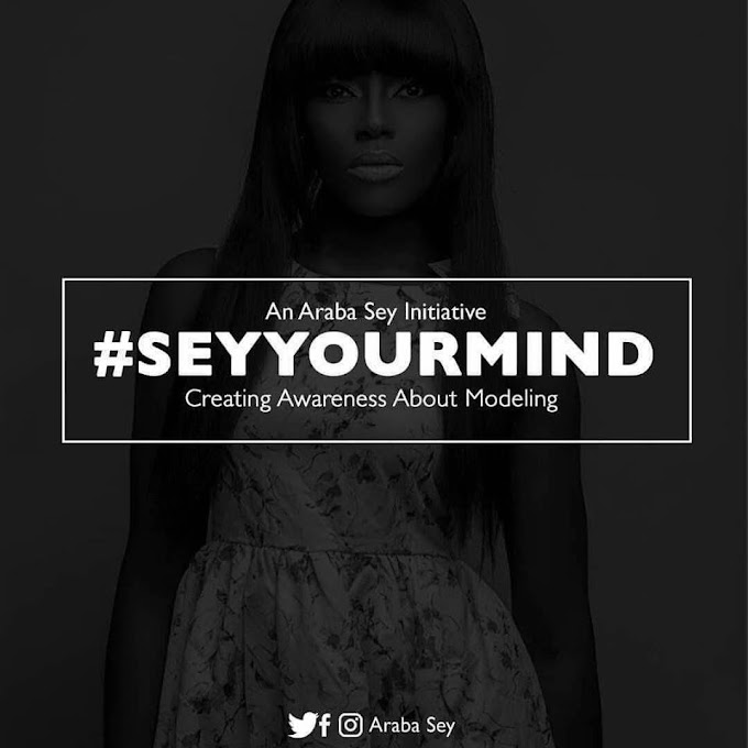 "Araba Sey Prepares To Launch ""Sey Your Mind"" Initiative To Create Awareness About Modeling"