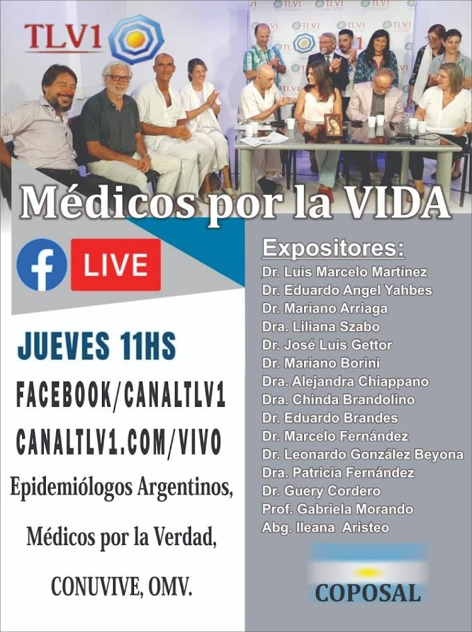 Médicos por la vida Argentina - conferencia