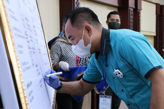 Gubernur Lampung Beri Arahan Dalam Rapat Koordinasi Penegakan Hukum Protokol Kesehatan Covid-19 Pada Tahapan Pilkada Serentak