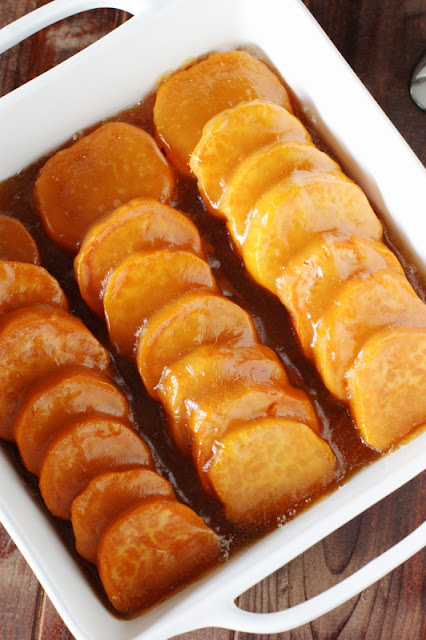 Sweet Potatoes with Brown Sugar Glaze Image