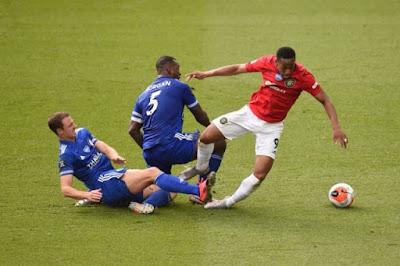 ملخص واهداف مباراة مانشستر يونايتد وليستر سيتي (2-0) الدوري الانجليزي