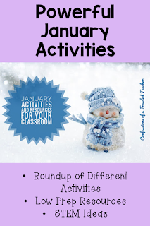 January brings about a fresh start to the school year. This blog post brings a roundup of resources and activities for celebrating Dr. King's life, teaching penguins, and having fun with snow. Make the rest of the school year a fun one with this start. Inside you will find books, STEM activities, writing activities, hands-on activities, and more. #confessionsofafrazzledteacher {Second, Third, Fourth, and Fifth Graders}