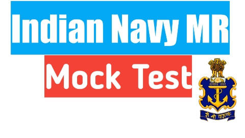 Navy mr online mock test - 2