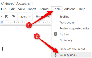 voice typing in google docs-techFAQ