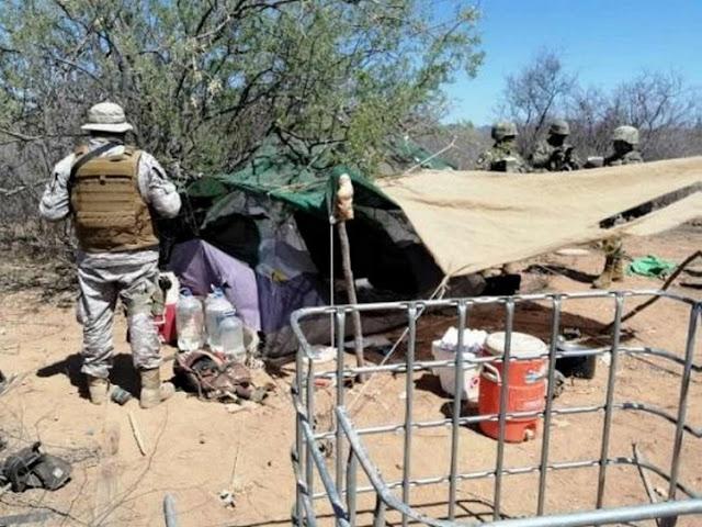 Marinos cachan y madrugan a Huachicoleros, decomisan toma clandestina y más de 10 mil litros de combustible en Sonora