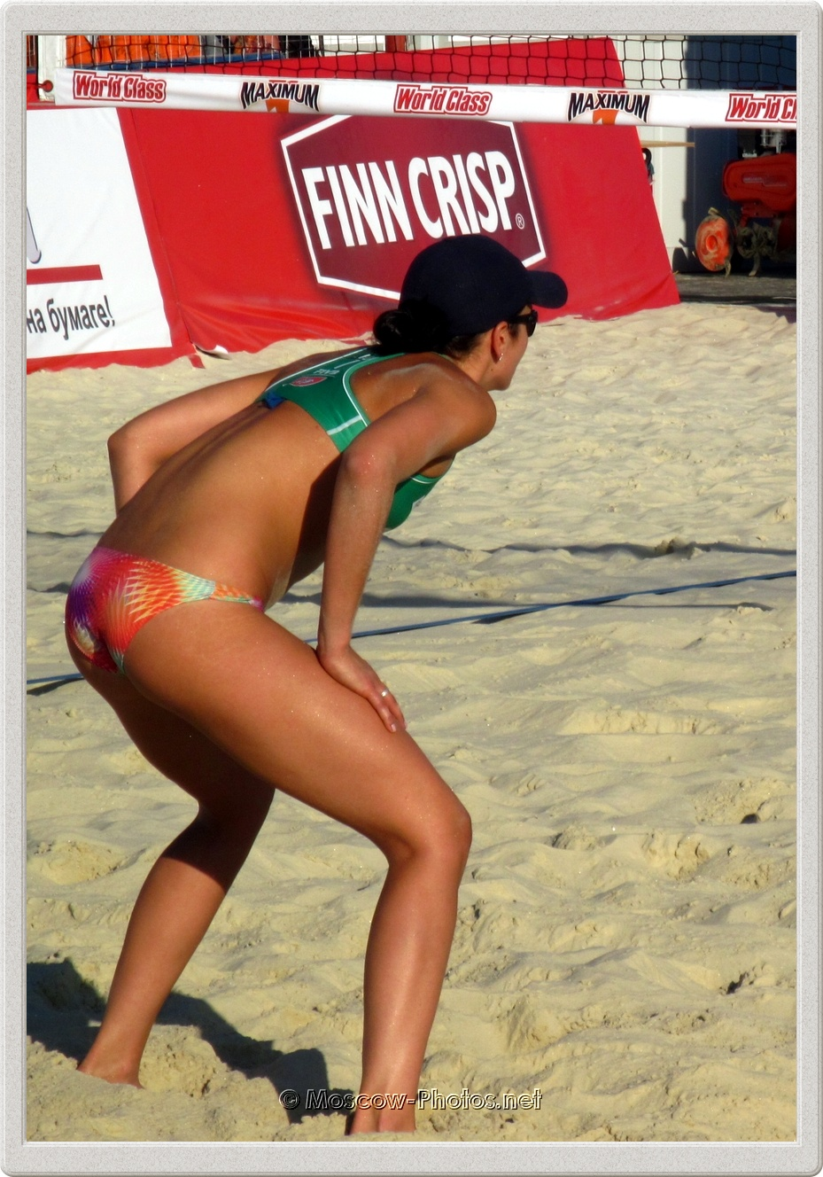 Australian Beach Volleyball Player Becchara Palmer