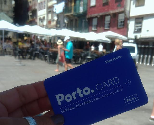 Cartão de turismo do Porto