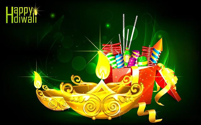 Happy Diwali 2013: Happy Diwali Fireworks And Crackers HD