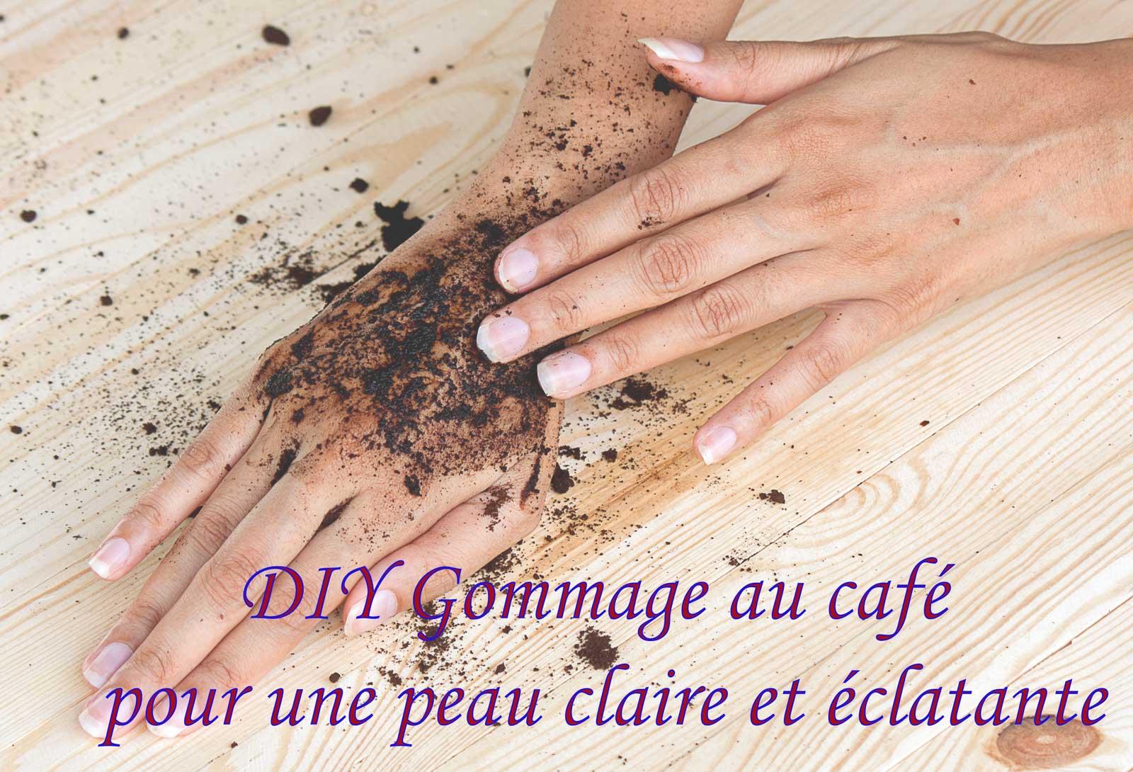 DIY Gommage au café pour une peau claire et éclatante