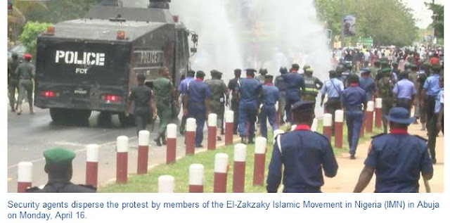 Shiite protesters clash with police