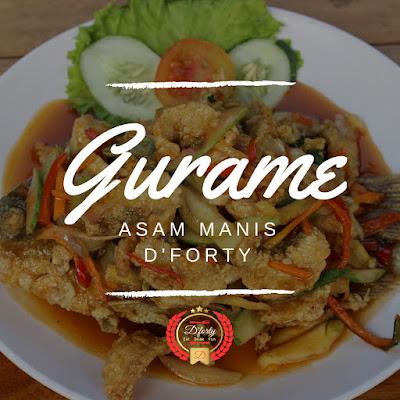 Ikan Gurame D'Forty