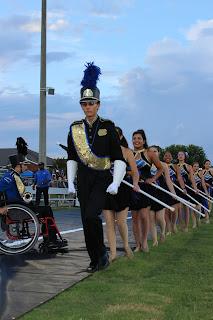 Catholic's Marching Band receives Superiors at Dixieland Marching Band Invitational 2