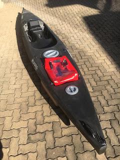 NEW Trident Fishing Kayak in black