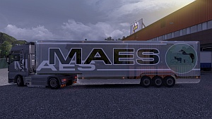 MAES MAN skin and trailer