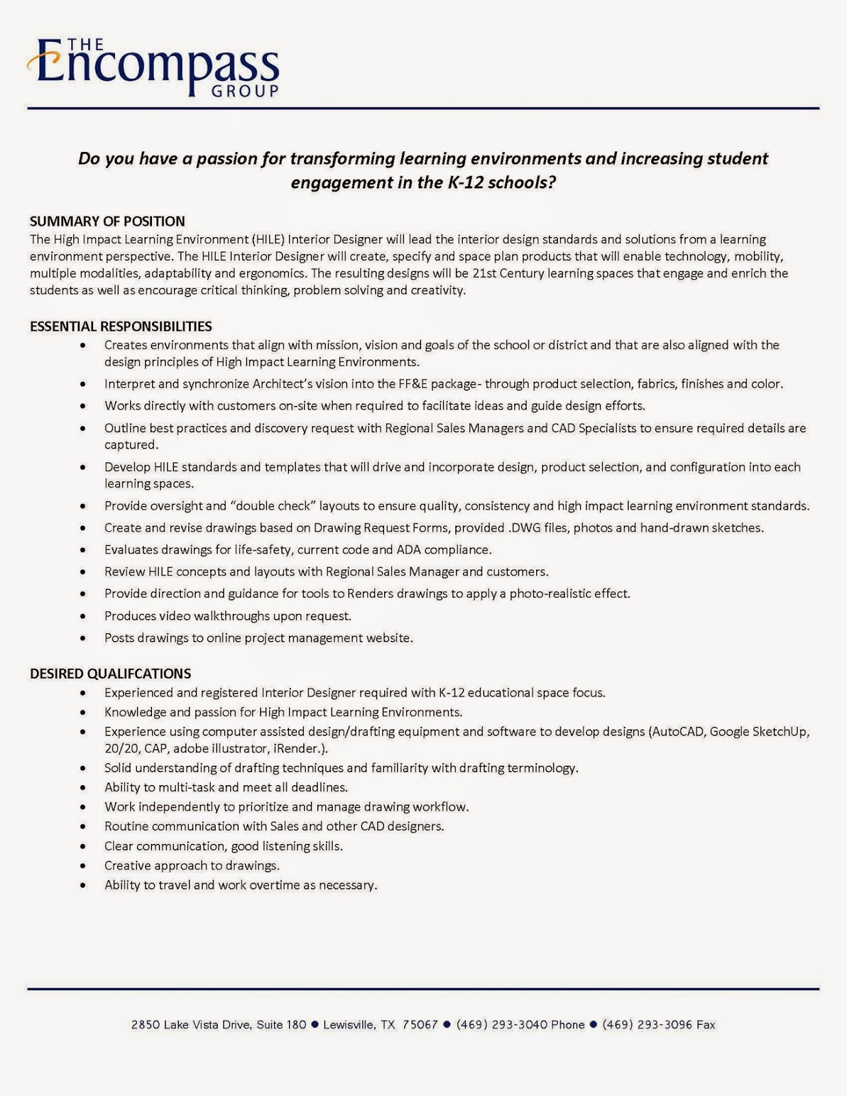 Job Description Of An Interior Designer Interior Designer