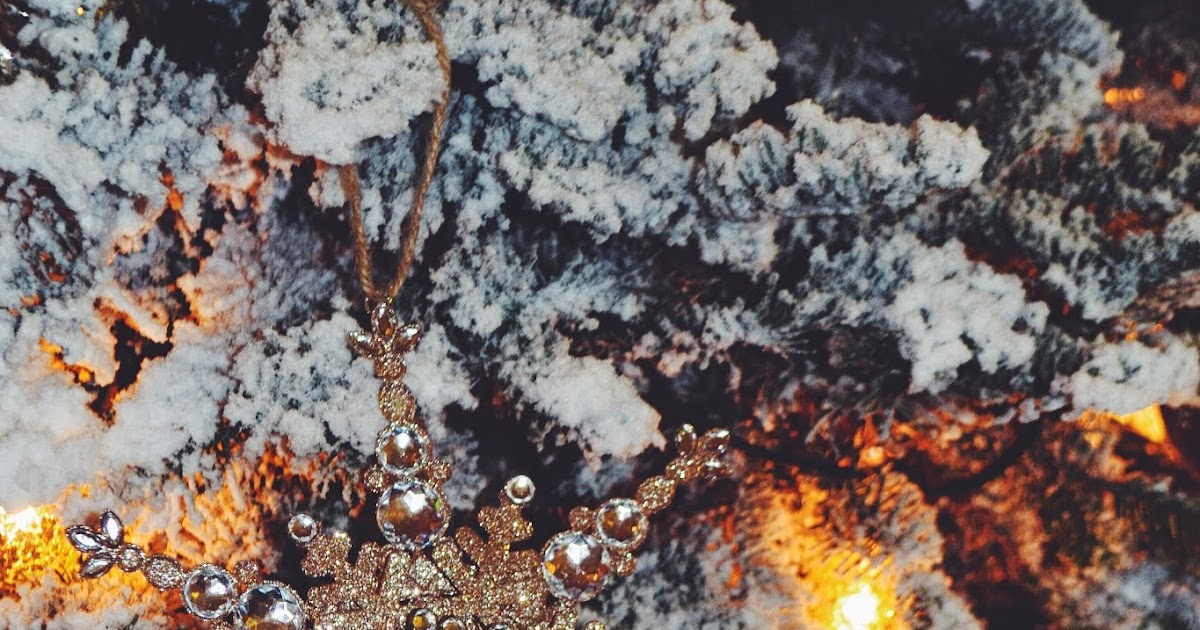 Sparkle Is Everything Christmas Tree Preparation