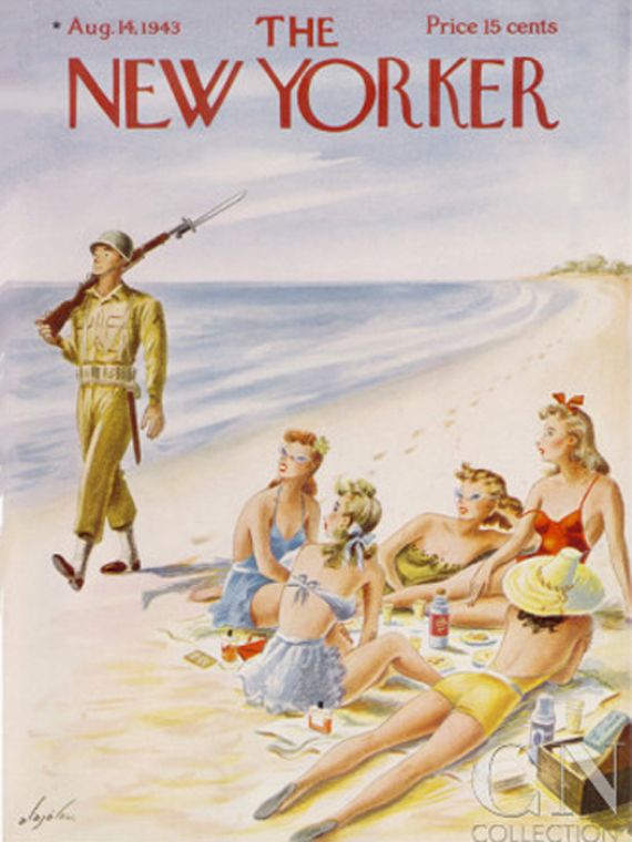The New Yorker august 1943 cover