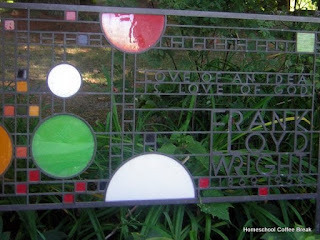 Frank Lloyd Wright - Blogging Through the Alphabet on Homeschool Coffee Break @ kympossibleblog.blogspot.com