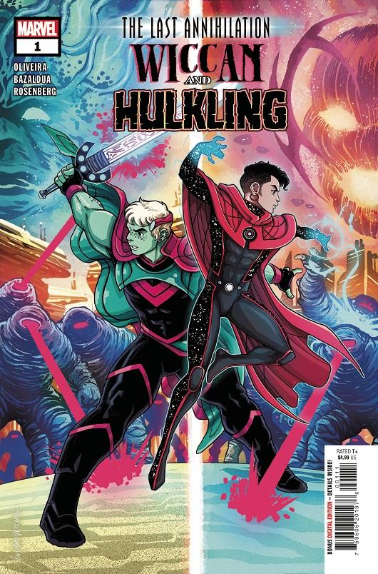 Last Annihilation: Wiccan & Hulkling #1