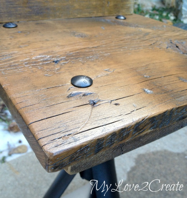 MyLove2Create, Rustic Industrial Kid Chairs