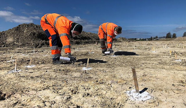 Archaeologists in Denmark discover huge defensive structure from the Roman Iron Age