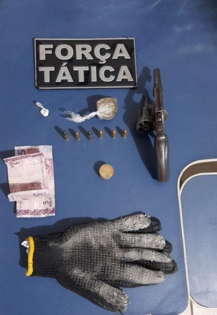 Polícia prende jovem por porte ilegal de arma de fogo na cidade de Picos