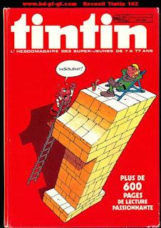 Recueil du journal Tintin, numéro 162, 1982