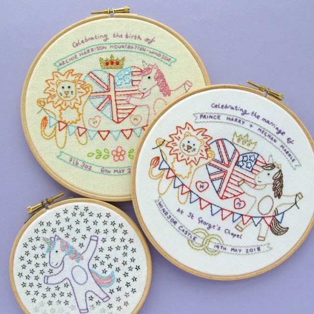 Royal Celebrations Embroidery Pattern