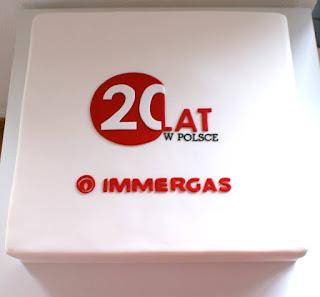 Tort dla IMMERGAS 20-lecie