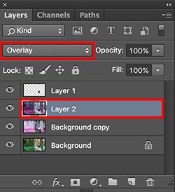 Cara membuat efek color invert di photoshop
