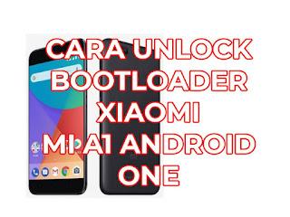 tutorial unlock bootloader xiaomi mi a1