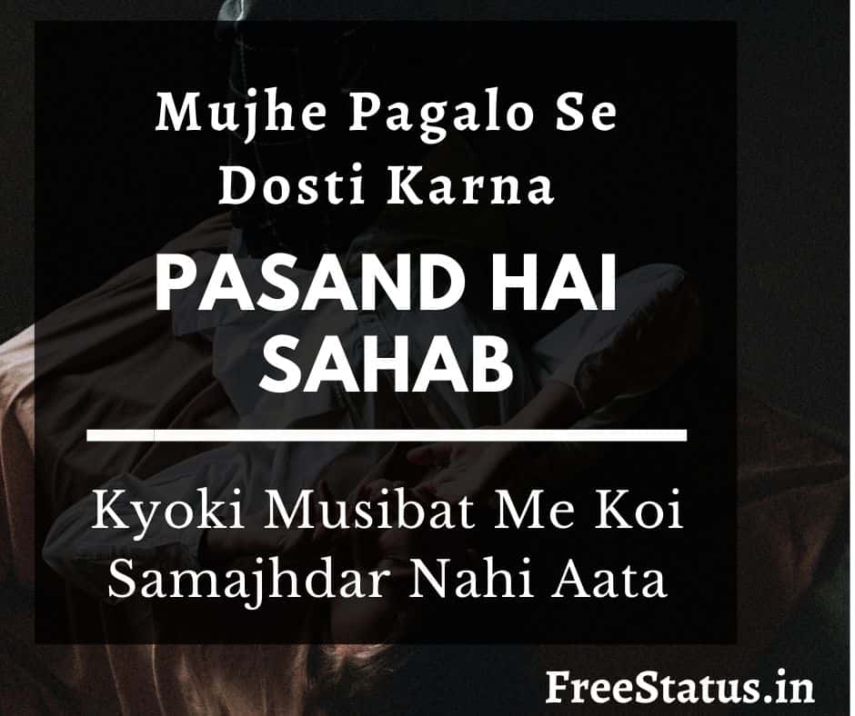 Mujhe-Pagalo-Se-Dosti-Dosti-Best-Shayari-In-Hindi