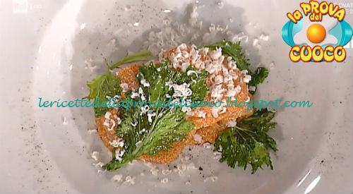 Rigatoni alle uova di pesce con broccoletti cipolla bruciata e ricotta salata ricetta Pascucci da Prova del Cuoco